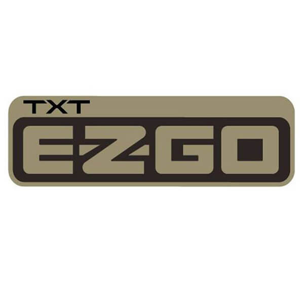 E-Z-GO TXT Side Body Decal - Parts - Golf Car UK