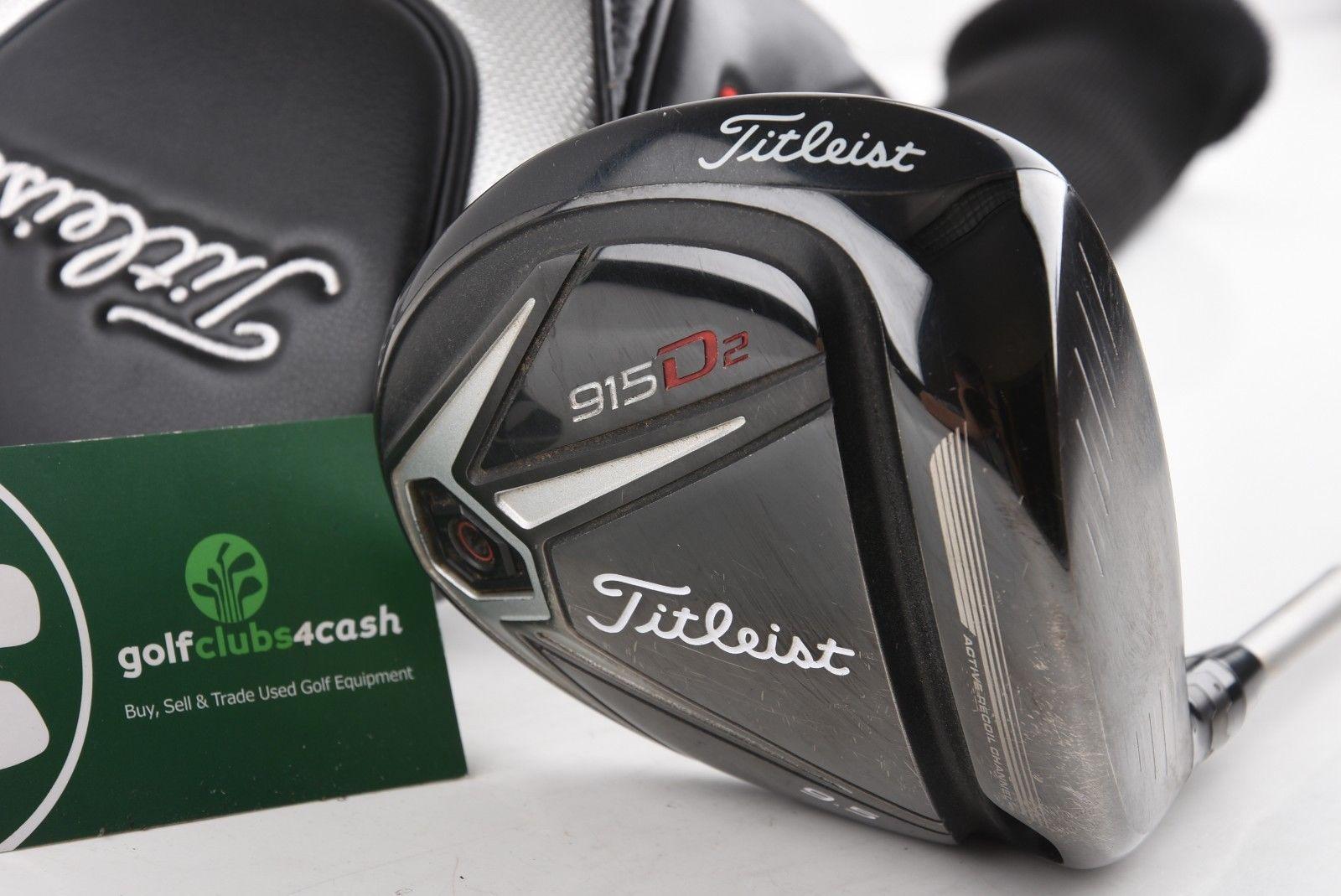 Golfschläger Titleist 915D2 Driver 9.5 degree Stiff flex