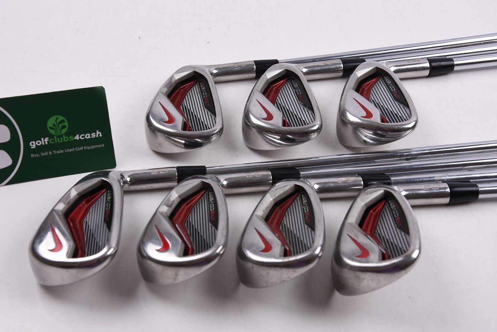 29d9a7703eff NIKE VRS COVERT 2.0 IRONS   4-PW   REGULAR FLEX DYNALITE 105 SHAFTS ...