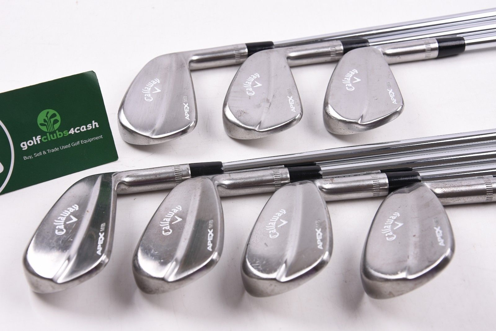 CALLAWAY APEX MB FORGED 2018 IRONS / 4-PW / REGULAR DG R300 SHAFTS /  CAIAPE287
