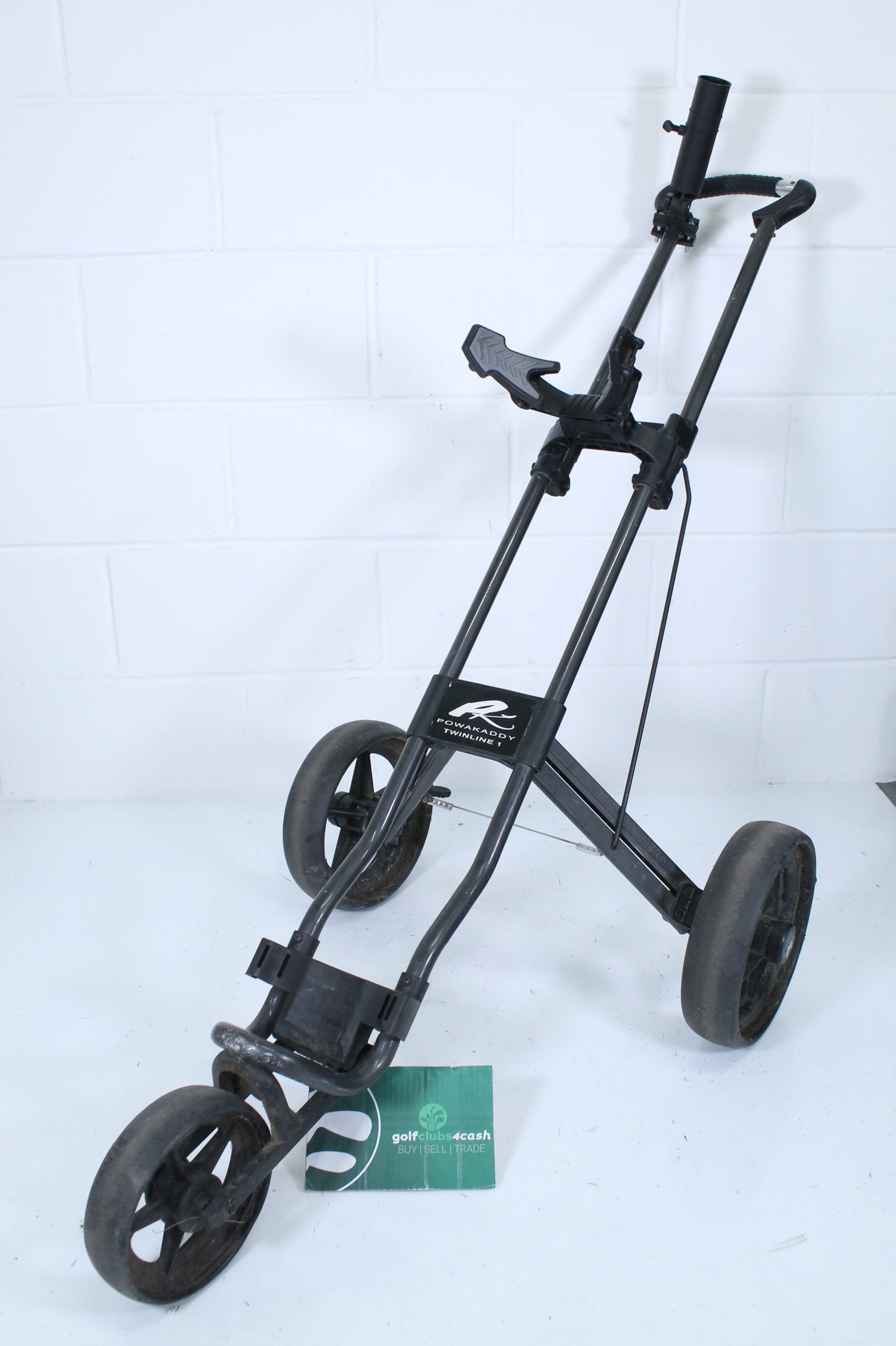 POWAKADDY TWINLINE 1 TROLLEY / BLACK / POTTWI019