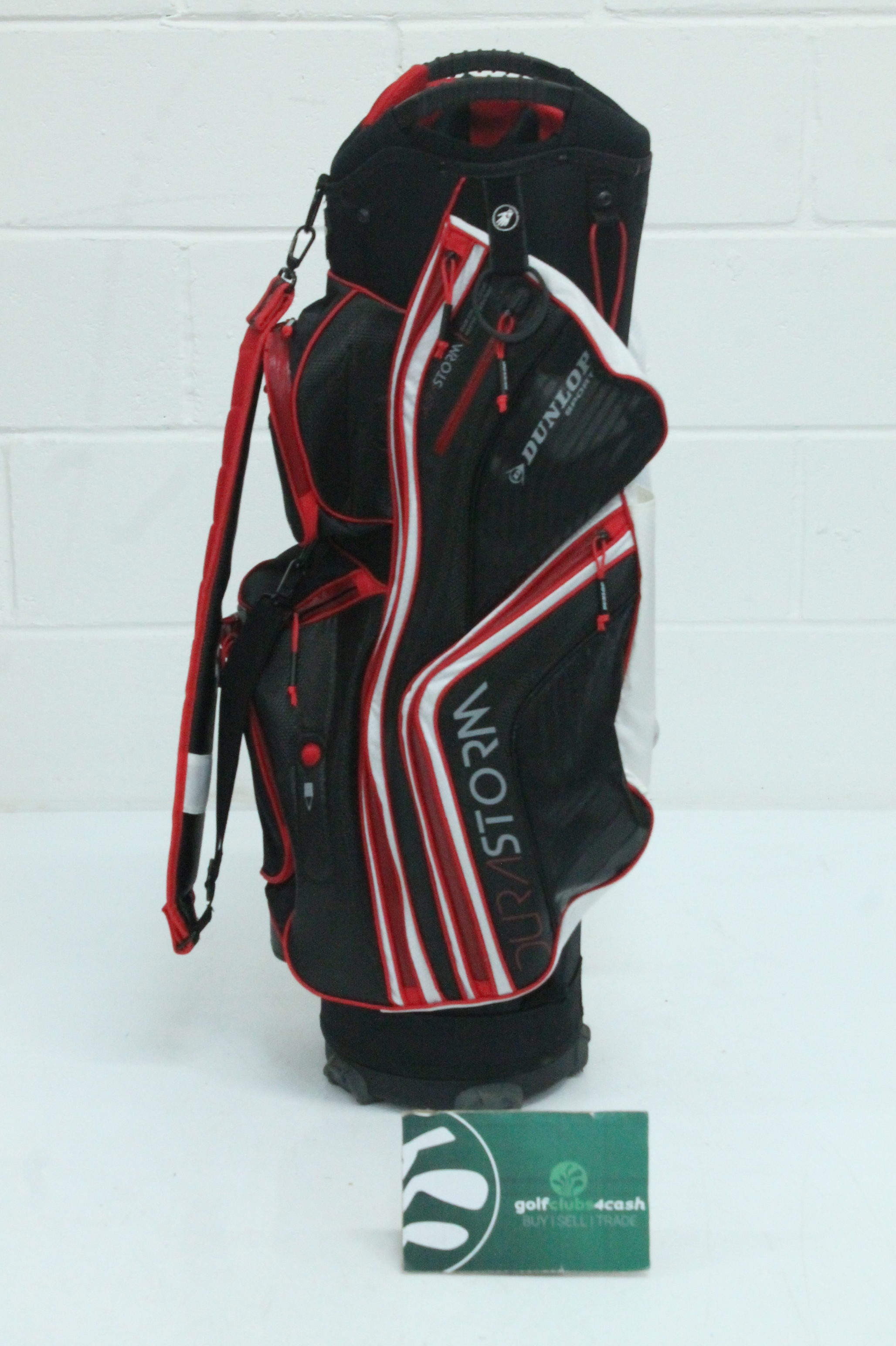 f4bf850fea DUNLOP DURASTORM CART BAG / RED, BLACK / 14-WAY DIVIDER / OTGDUN009 ...