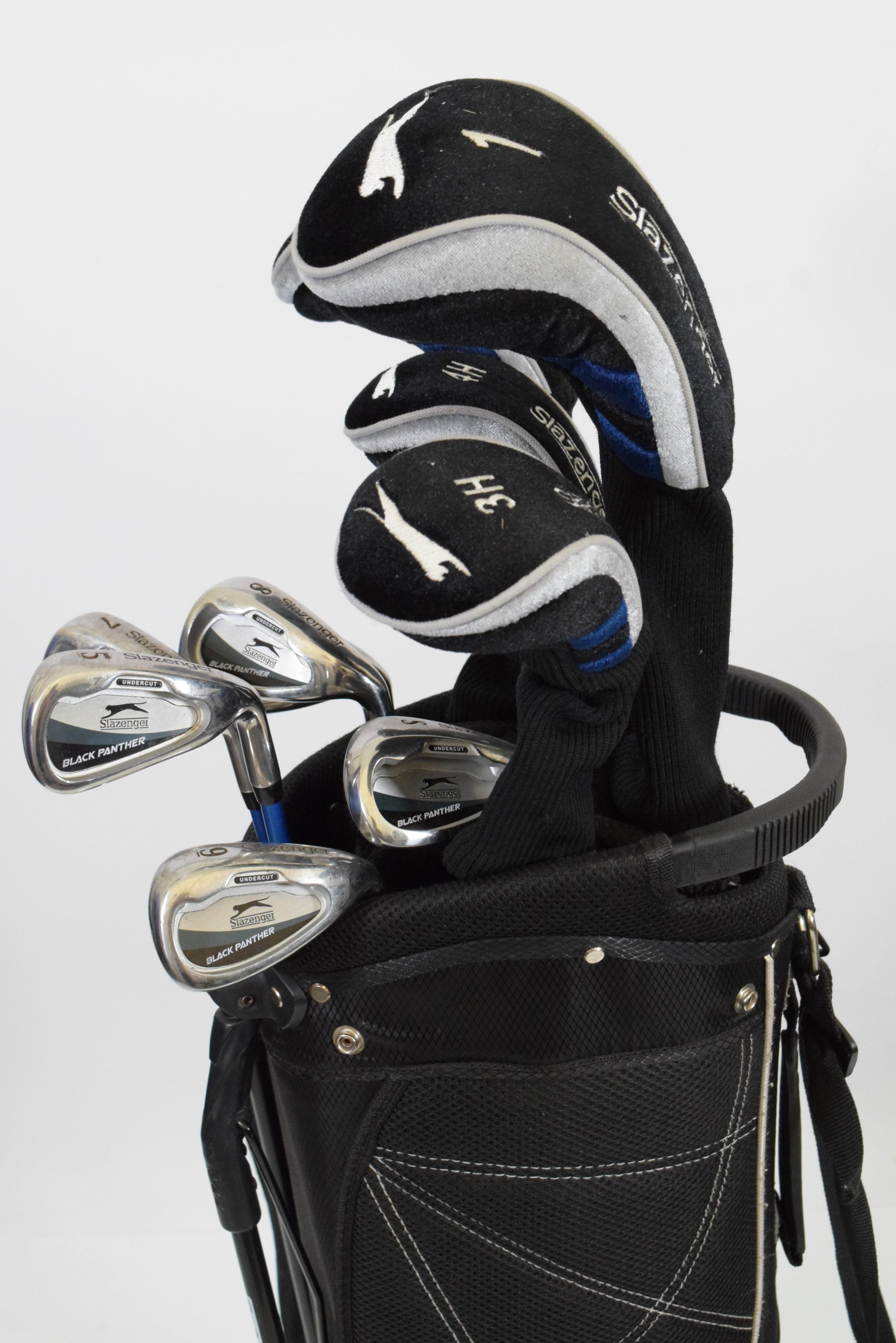 5b60dbe079a SLAZENGER PACKAGE SET / BLACK / WOODS, IRONS BAG / SLPBLA001 - Golf ...