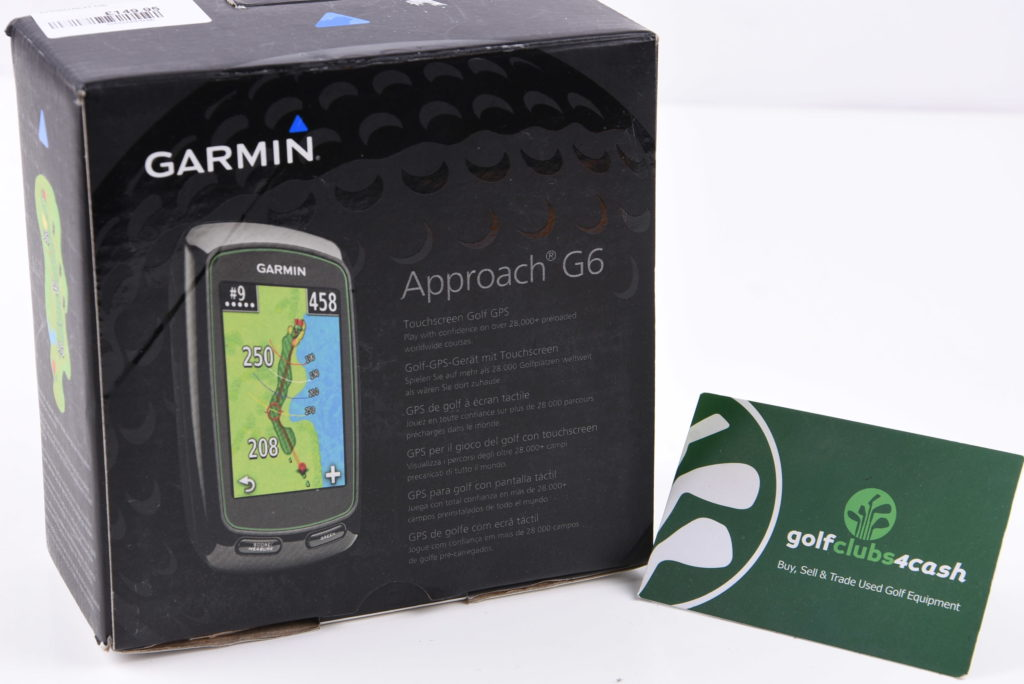 GARMIN G6 GOLF HANDHELD GPS / GAGAPP026 - Golf Clubs 4 Cash