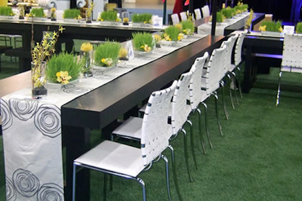 Artificial grass hire for events
