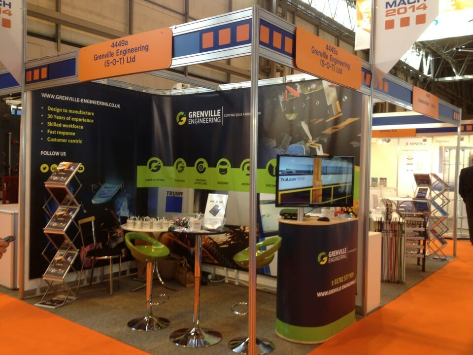 Grenville Stand at MACH 2014