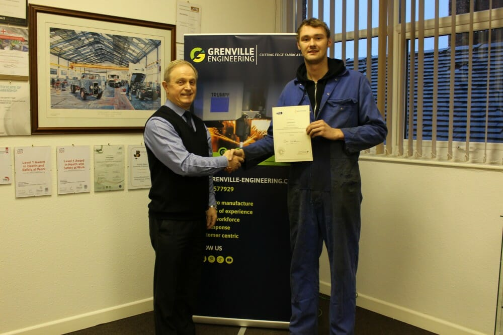 Connor Heath Intermediate Apprenticeship