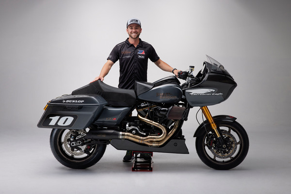 Travis Wyman joins Harley-Davidson Screamin' Eagle Factory Team for King of the Baggers Series