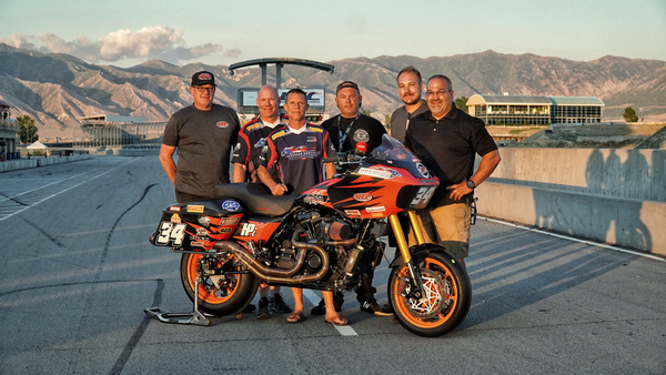 Barnes charges to Bagger Racing League win on Harley-Davidson Road Glide Special