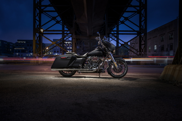 Accessorized Harley-Davidson Street Glide