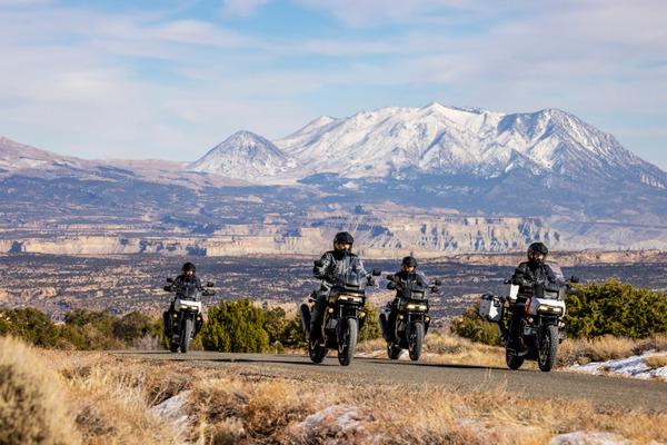 Harley-Davidson kicks off Pan America adventure motorcycle demo tour