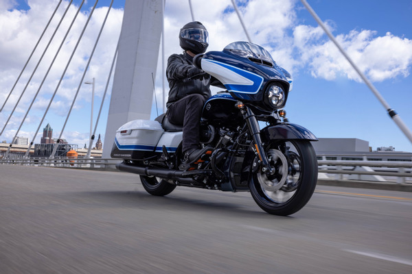 Harley-Davidson reveals Street Glide Special model with Arctic Blast limited-edition paint