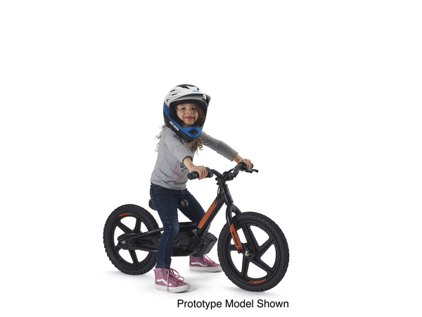 Introducing the new Harley-Davidson branded version of StaCyc's electric 12-inch and 16-inch two-wheelers for kids. Harley-Davidson announced the acquisition of StaCyc on March 5.  All images showcase prototype models only.
