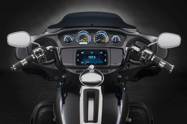 Harley-Davidson® Audio powered by Rockford Fosgate®