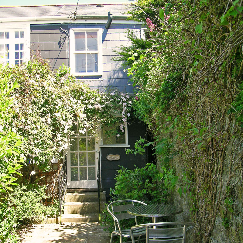 pin holiday caddydaw cottage cornwall portloe cottages