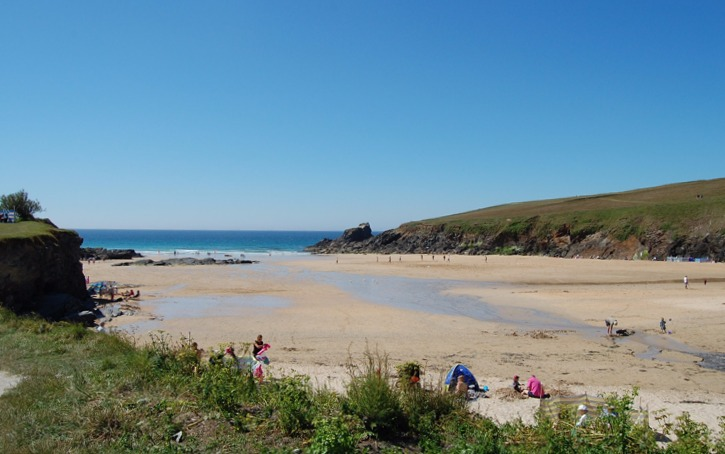 Trevone Bay Beach for Cottage Holidays