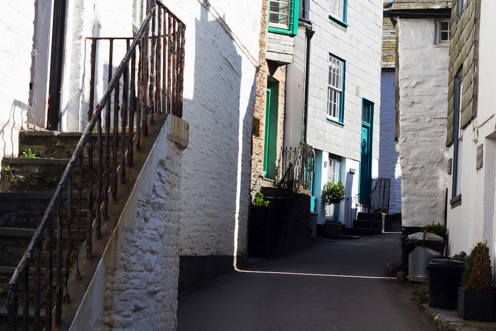 Narrow Streets Port Issac Cornwall