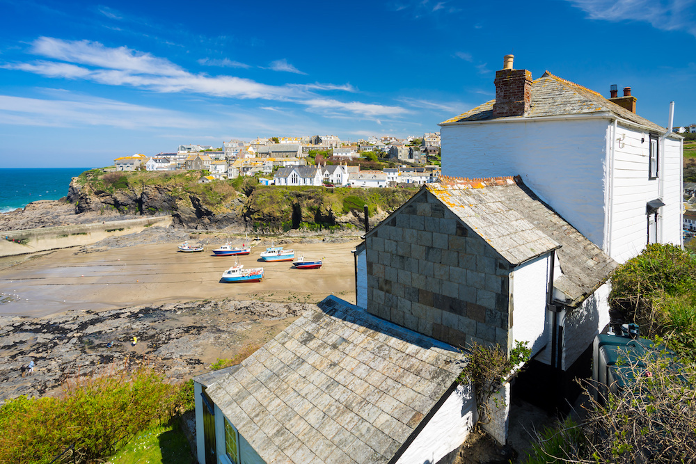 Port Issac Holiday Cottages and Beach