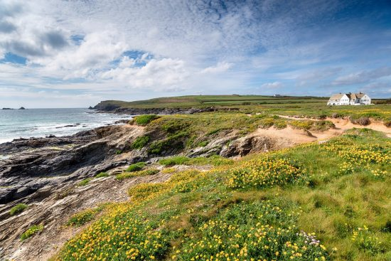 Constantine Bay cottages Cornwall