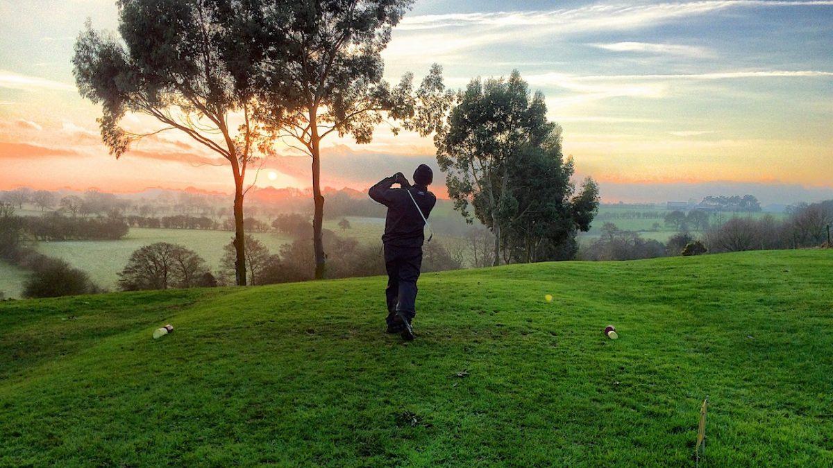 Parkland golfing
