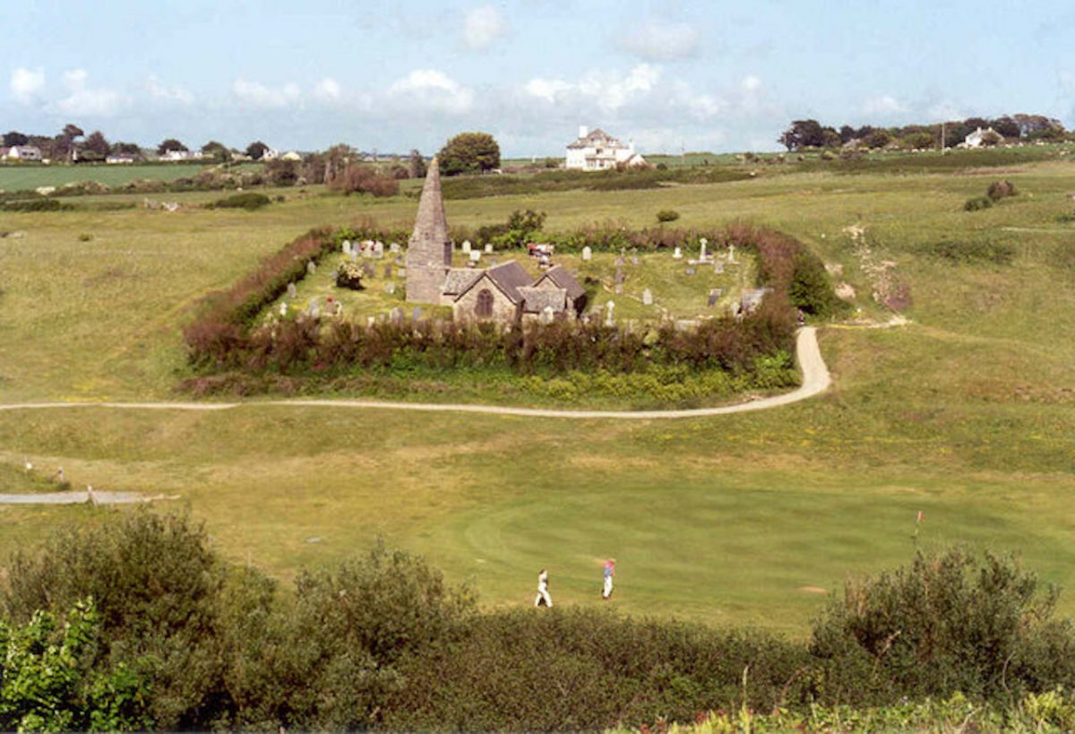 St Enodoc Golf Course in Cornwall
