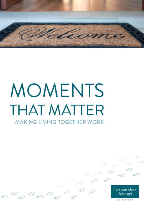 Moments that Matter – Making living together work