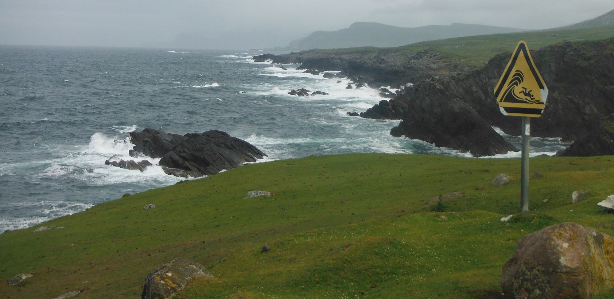 The view from Achill Island