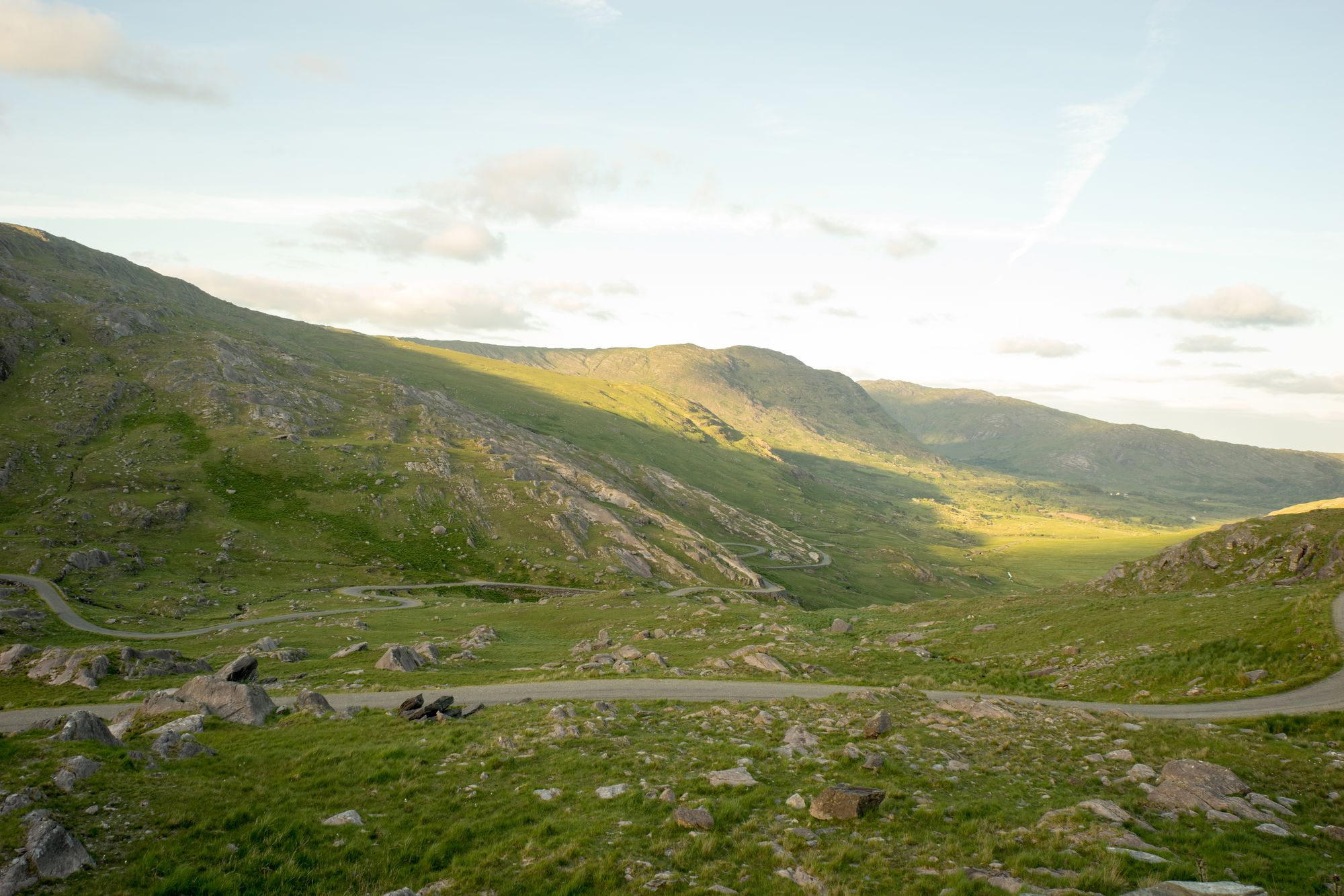 Looking back, Healy Pass, Photo (c) Jonny Collins/Jcollins Productions