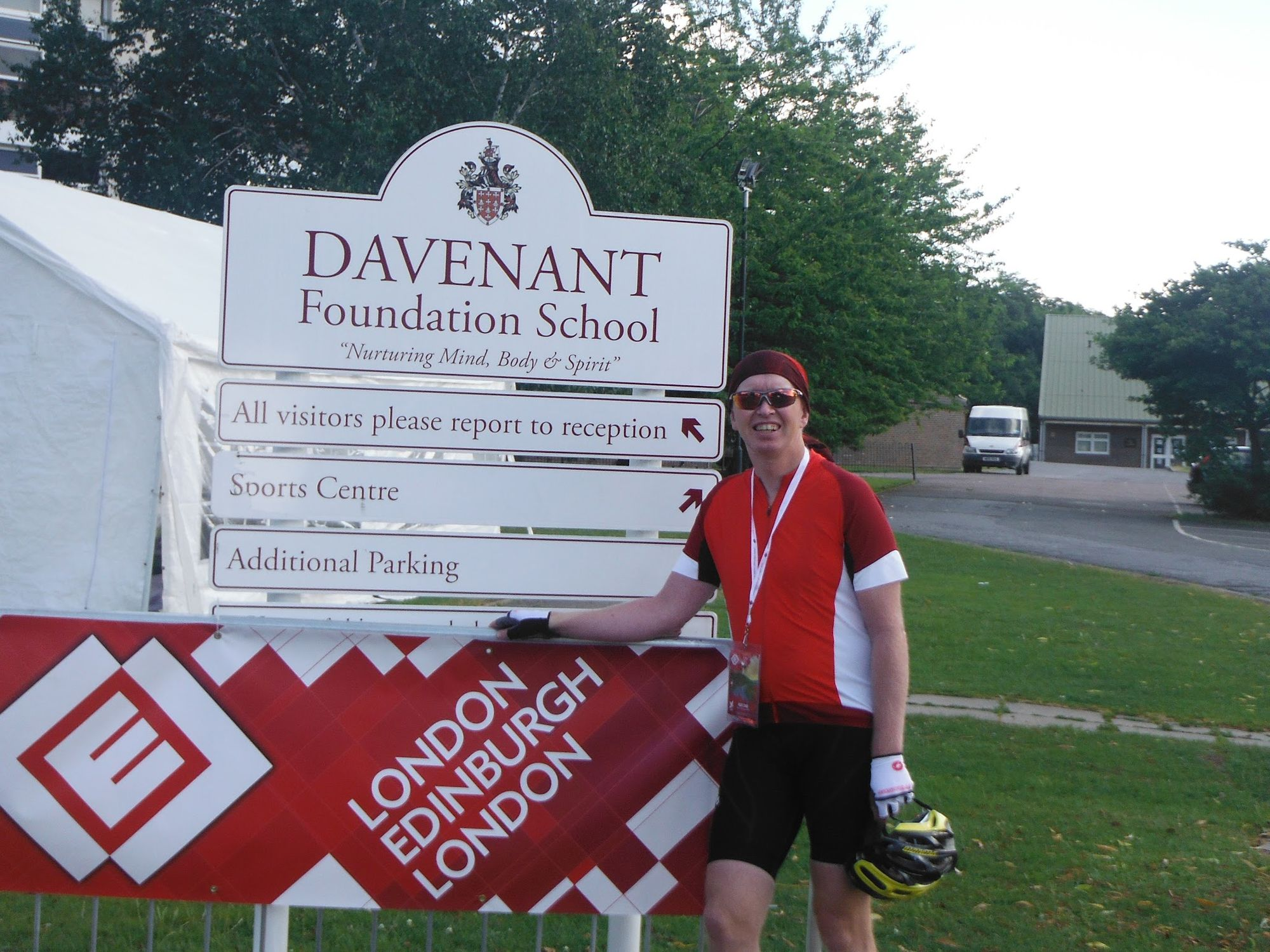 At the start, Loughton