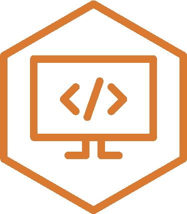 Web development icon ac