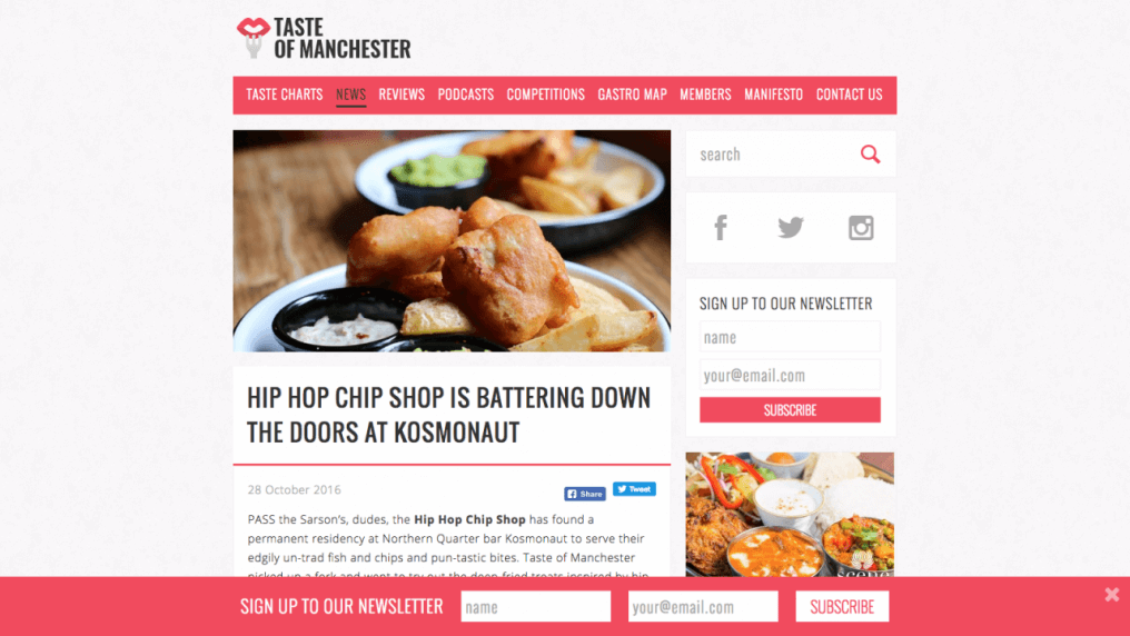 The Hip Hop Chip Shop has found a permanent residency at Northern Quarter bar Kosmonaut
