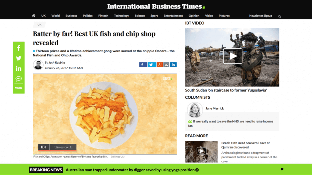 Batter by far! Best UK fish and chip shop revealed