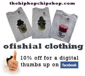 Facebook Advert For Tees - The Hip Hop Chip Shop