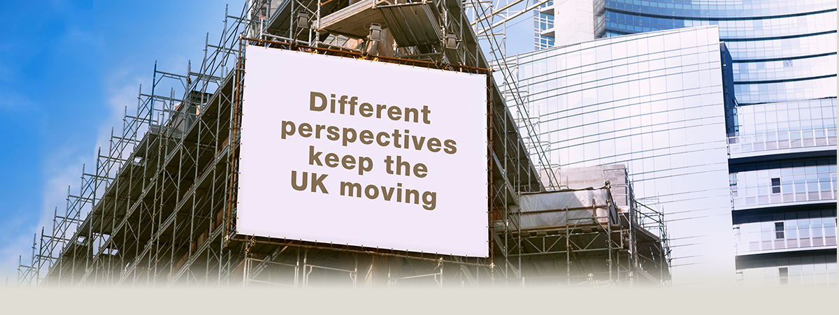 Different perspectives keep the UK moving