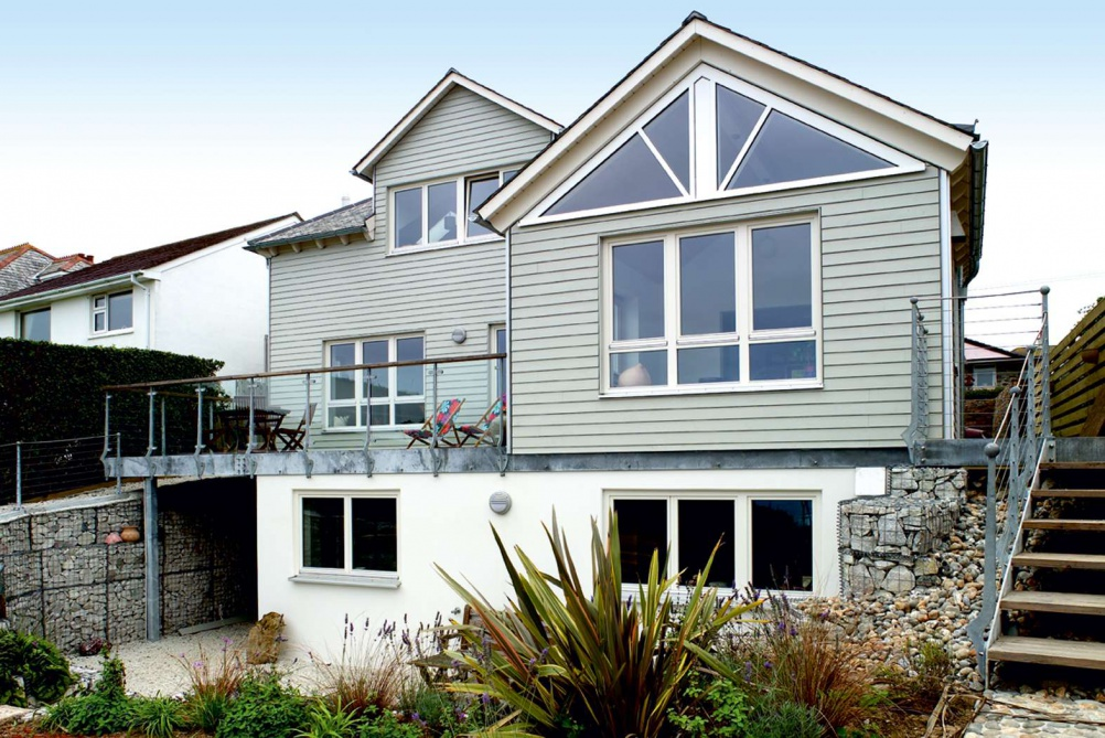 Eco house in Cornwall