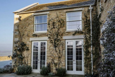Vintage-style bespoke timber windows