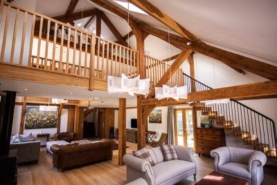oakmasters oak beam timber frame mezzanine