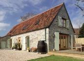A converted stone barn