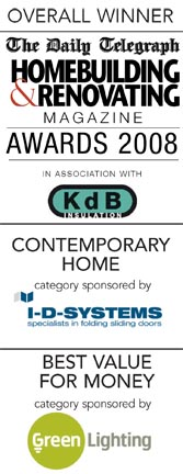 Overall Winner of the Daily Telegraph Homebuilding & Renovating Awards 2008