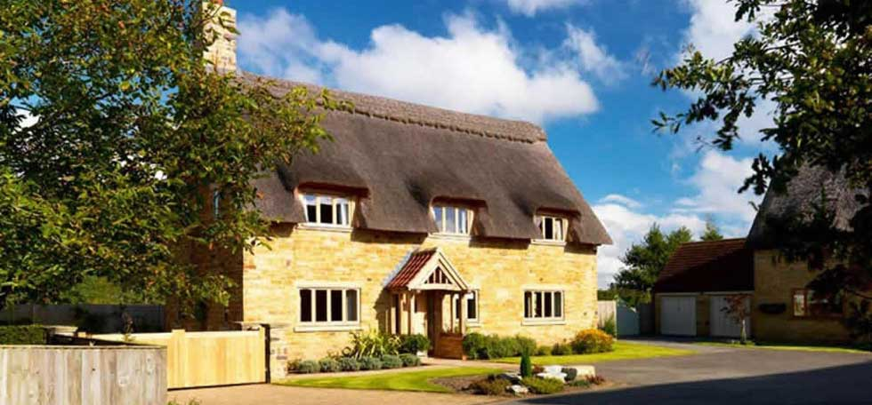 New build thatched cottage