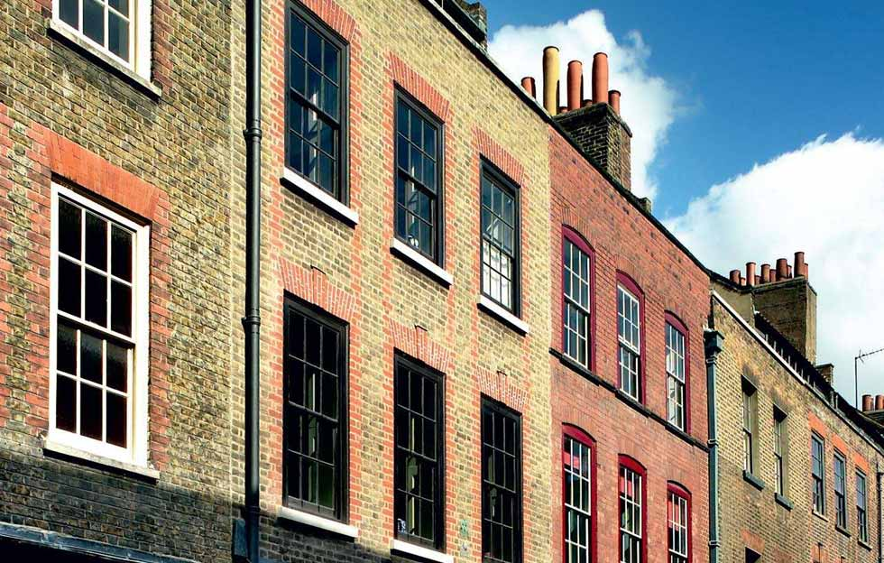 A restored London townhouse