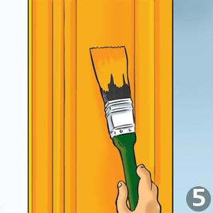 Painting Wooden Windows - Step 5