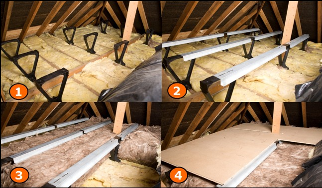 How to board your loft homebuilding renovating loft zone loft boarding solutioingenieria Images