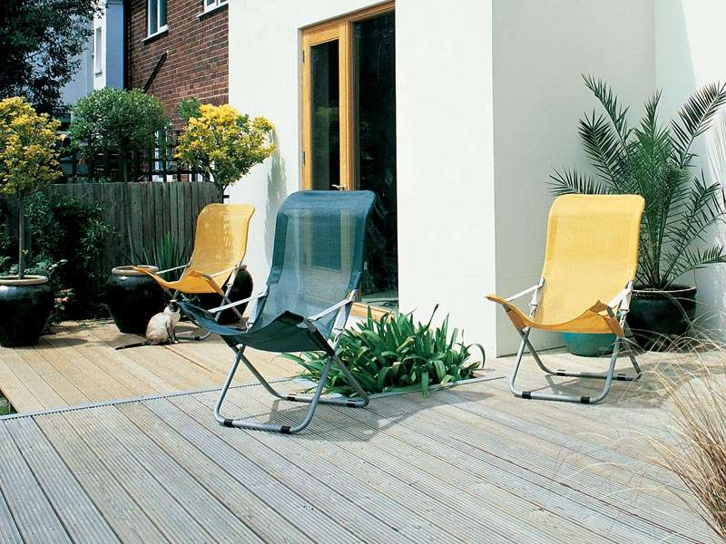 Example of outdoor decking
