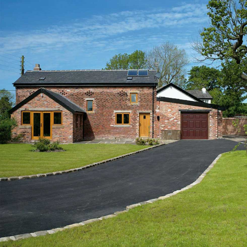 An eco barn conversion
