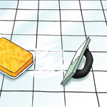 How to Repair a Broken Tile - Step Five
