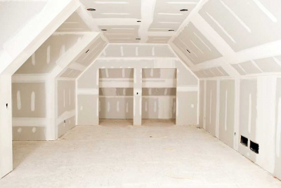 plasterboard and skim in a loft conversion