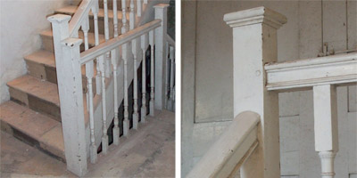Georgian Staircases And Handrails