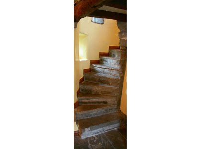 An Old Stone Staircase