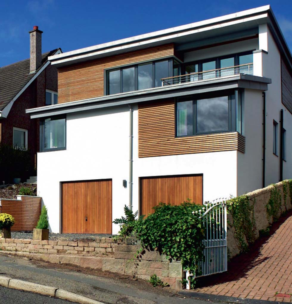 An energy-efficient contemporary self build